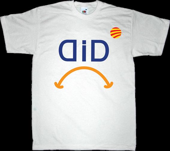 catalonia Politics independence convergència i unió shame t-shirt ephemeral-t-shirts