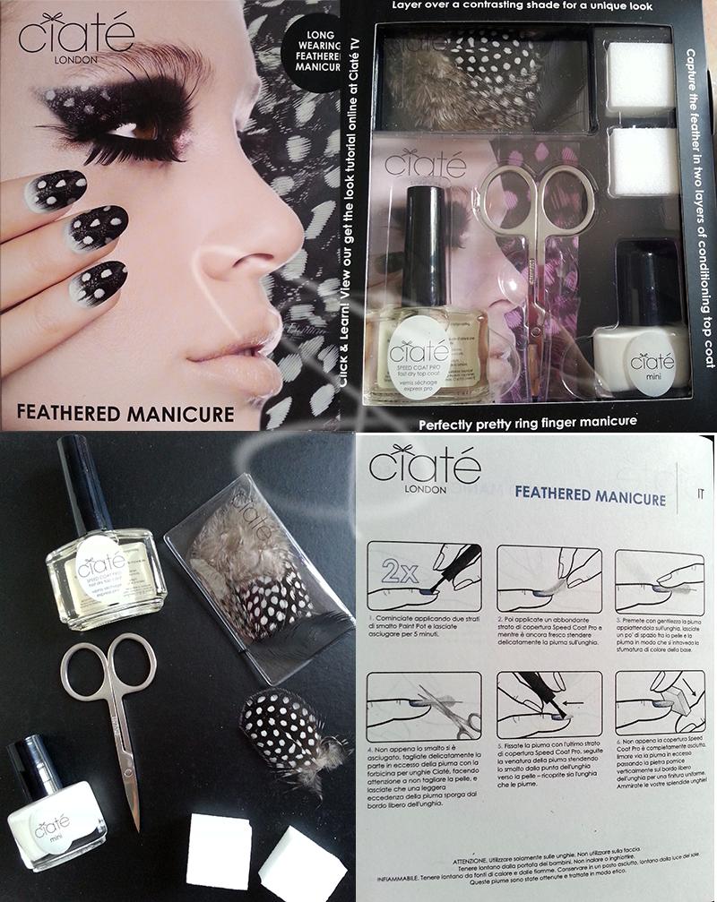 ciatè kit manicure feathered