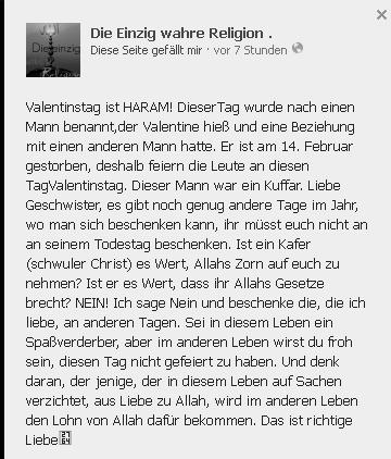 Pierre Vogel Und Seine Welt Die Salafisten Und Der Schwule Valentinstag