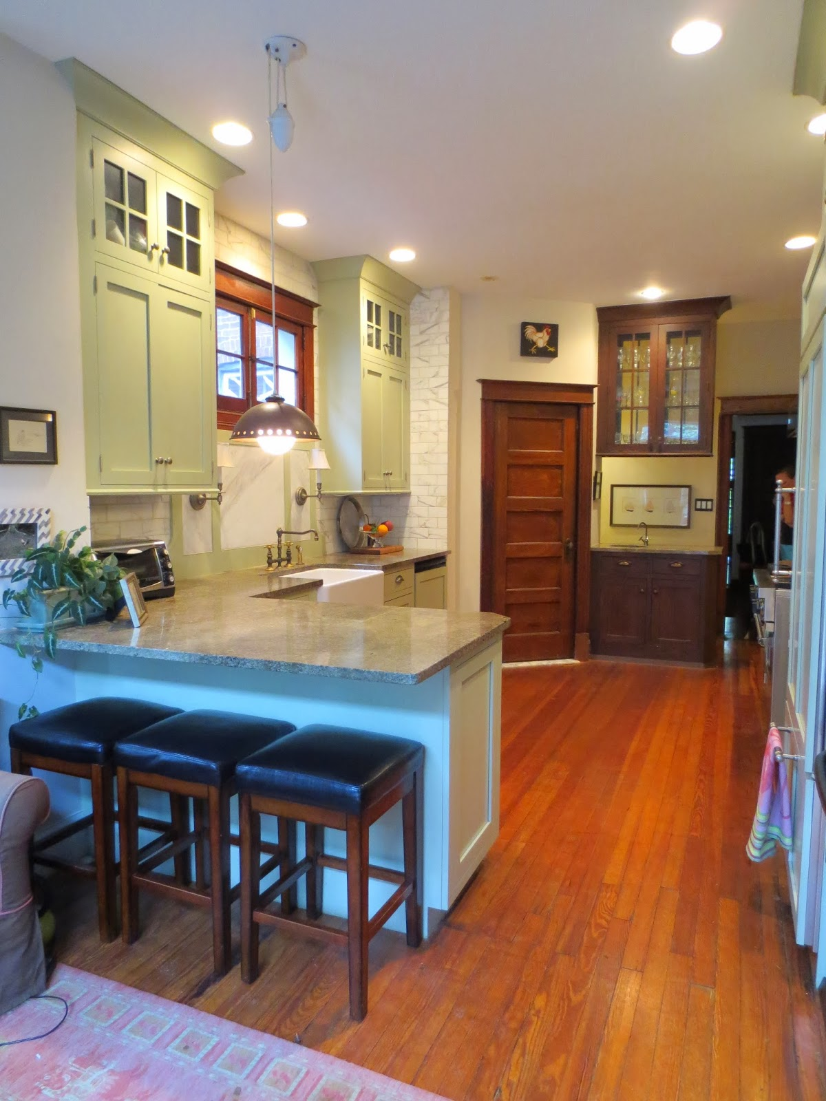 Row House Refuge Timeless Kitchen Design Part - Timeless kitchen design
