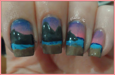 three-cliffs-bay-gower-swansea-nail-art