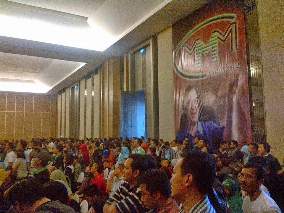 Big Conference MMM Mavrodi Indonesia di kota malang pada tanggal 07 juni 2014