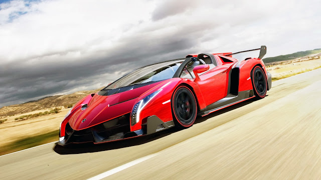 2014 Lamborghini Veneno Roadster HD Wallpaper