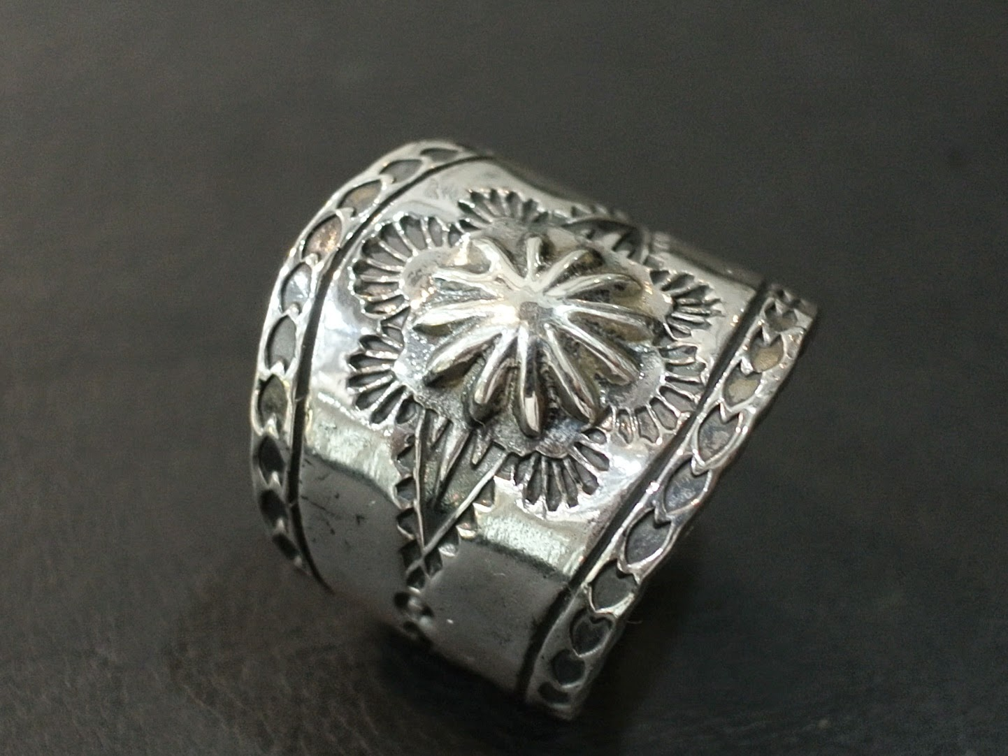 Dear Blossom - Concho Ring