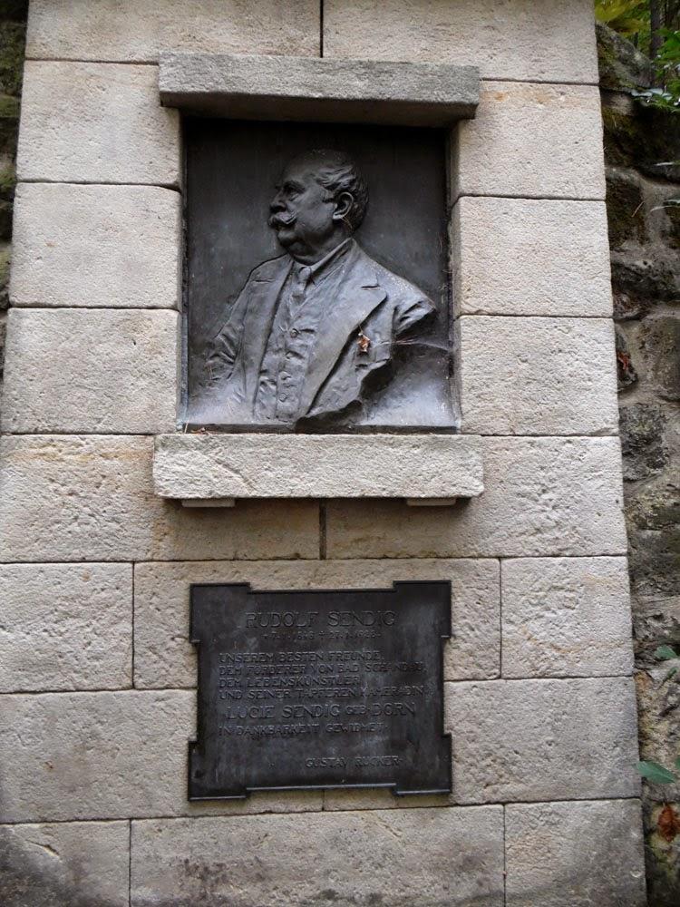 Memorial to Rudolf Sendig  by Andie Gilmour