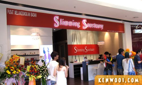 paradigm mall slimming sanctuary