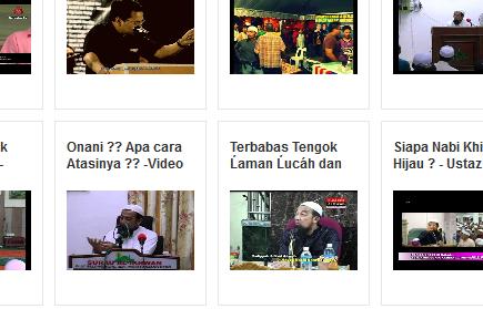 Video Ceramah Ustaz Kazim Terkini 2013