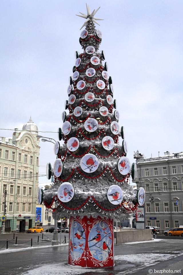 новогодние елки в москве 2016 года
