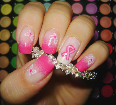 unhas decoradas catarina cancer de mama2