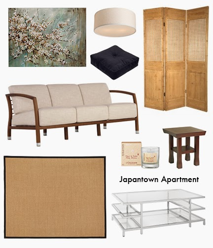 Golden dreamland interior design inspiration japantown for Interior design inspiration apartment