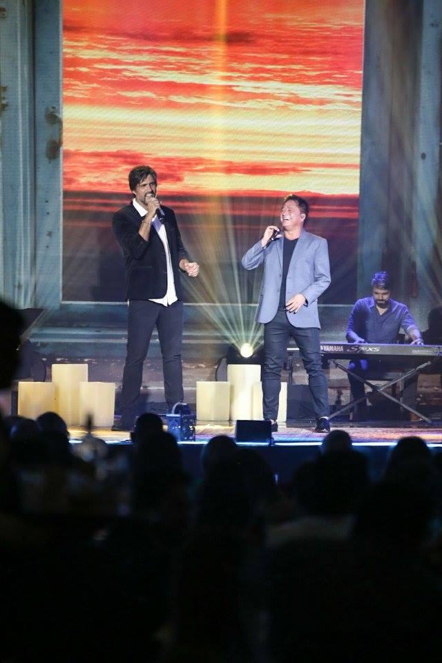 Show Evento Amigos do Futuro participação do Leonardo em Uberlândia /MG 18 10 2017