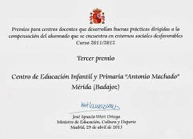 Premio del Ministerio