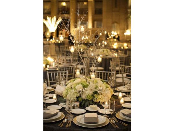 brancoprata decoracao:Morena Flor Glamour: Casamento: Decoração em Branco e Prata