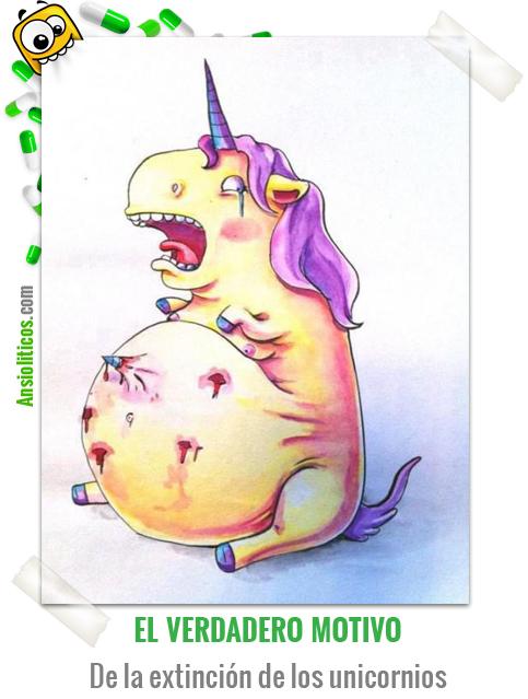 Chiste de la extinción de los unicornios