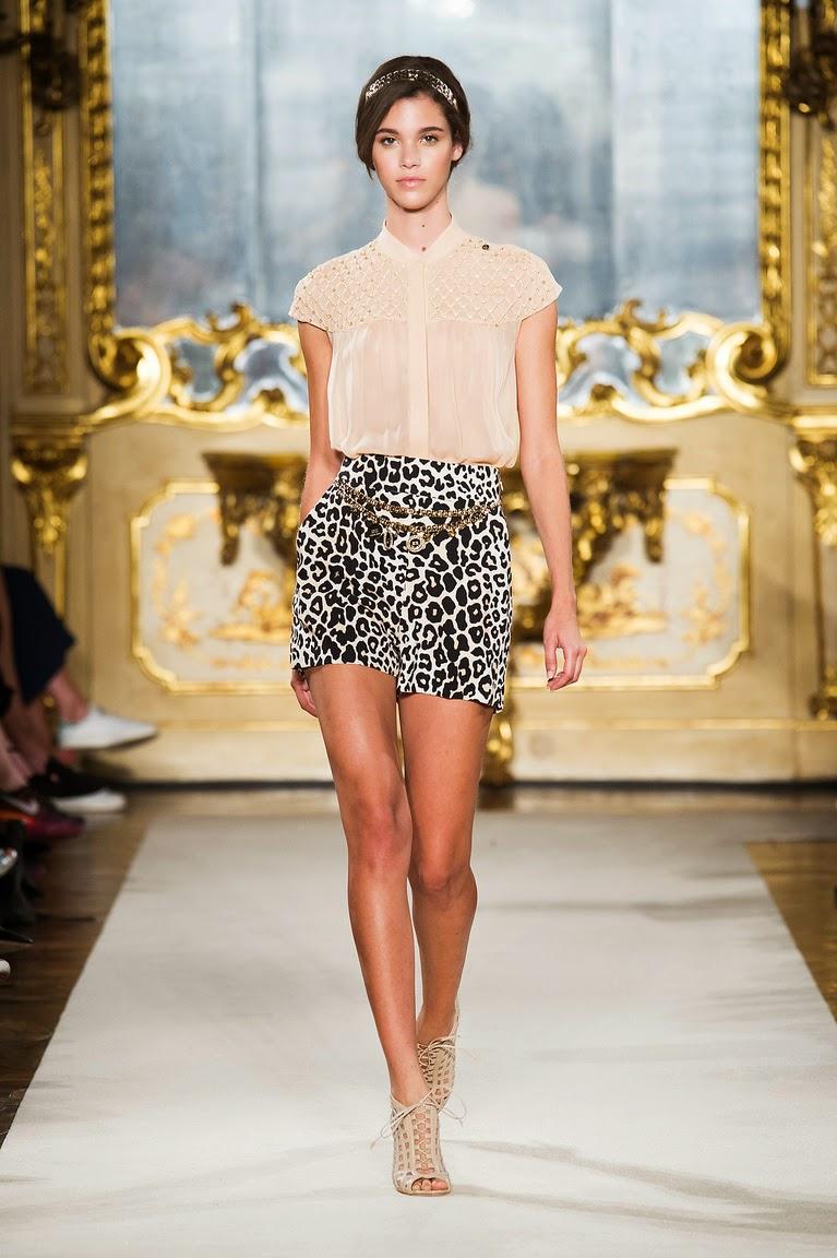 леопардовая юбка