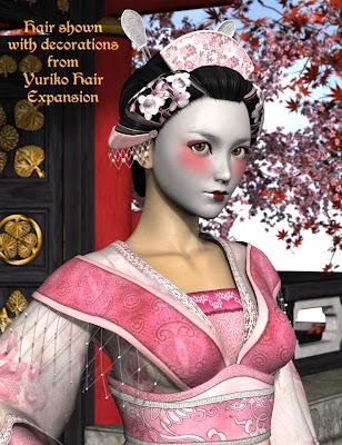 Yuriko cheveux