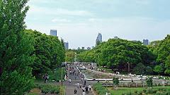 Banderazo en el Parque Yoyogi
