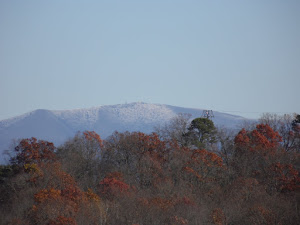 Snow peak mountains of North Carolina