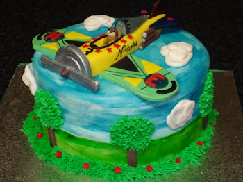 Aeroplane Cake