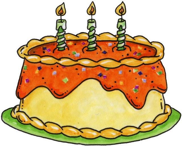 dibujos de tartas de cumpleaños - Imagenes y dibujos para imprimir ...