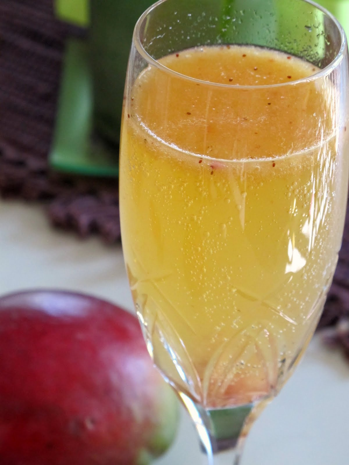 Toast to Taste: Strawberry Mango Bellini
