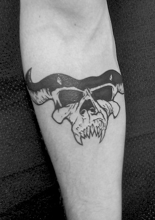 collin kasyan 39 s tattoo portfolio danzig skull tattoo. Black Bedroom Furniture Sets. Home Design Ideas