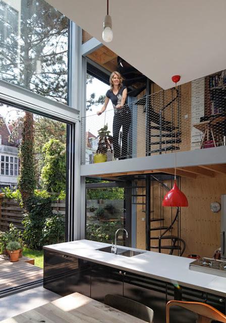 Geländer aus Masschendraht - günstige Selbermachen-Idee für Haus & Garten!