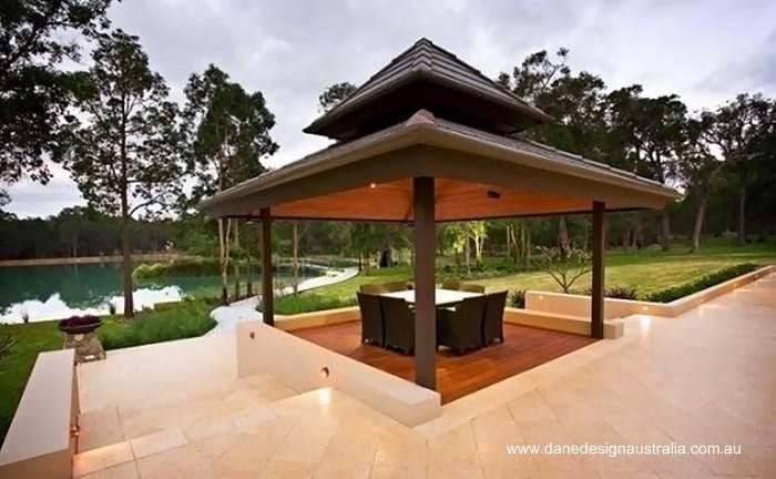 Exteriores de la casa resort Zen