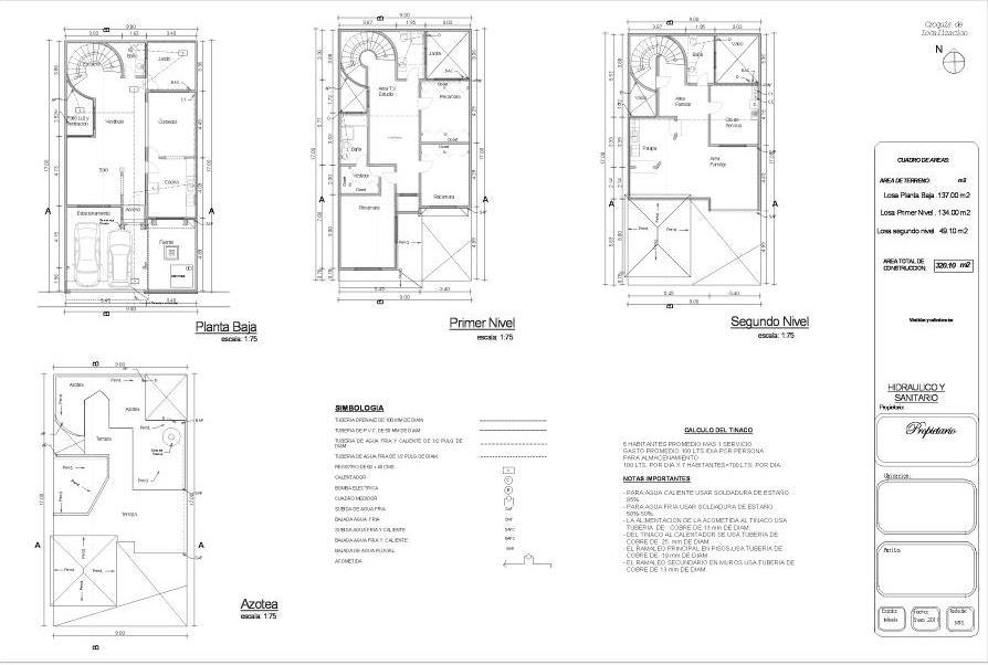 Planos arquitectonicos sena hidr ulicos for Planos arquitectonicos de un oxxo