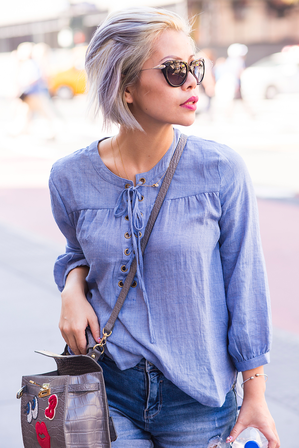Crystal Phuong- Singapore Fashion Blogger- Streetstyle in Manhattan