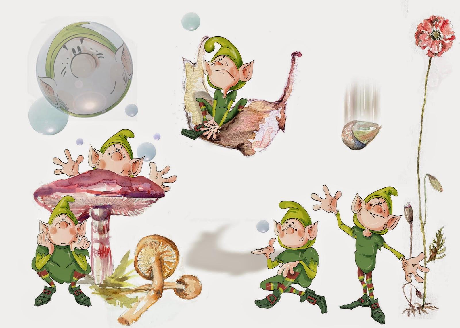 Vocabulario en imágenes. Maestra de Infantil y Primaria.: Elfos ...