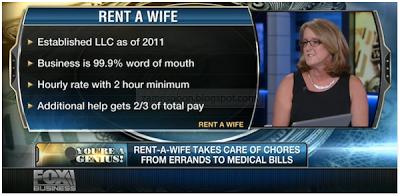 Rent-a-Wife, perkhidmatan, lelaki tunggal, sewa isteri,