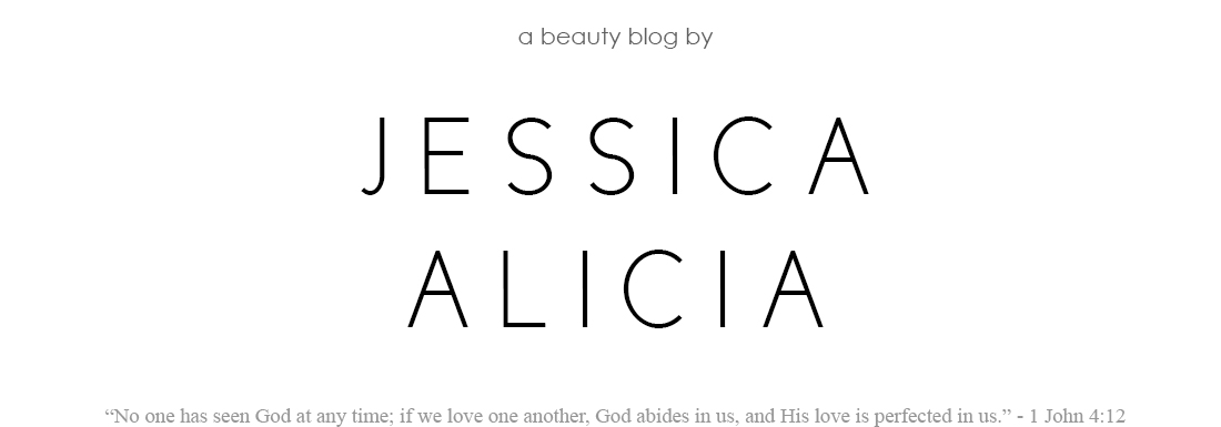 ∞ A Beauty Blog by Jessica Alicia