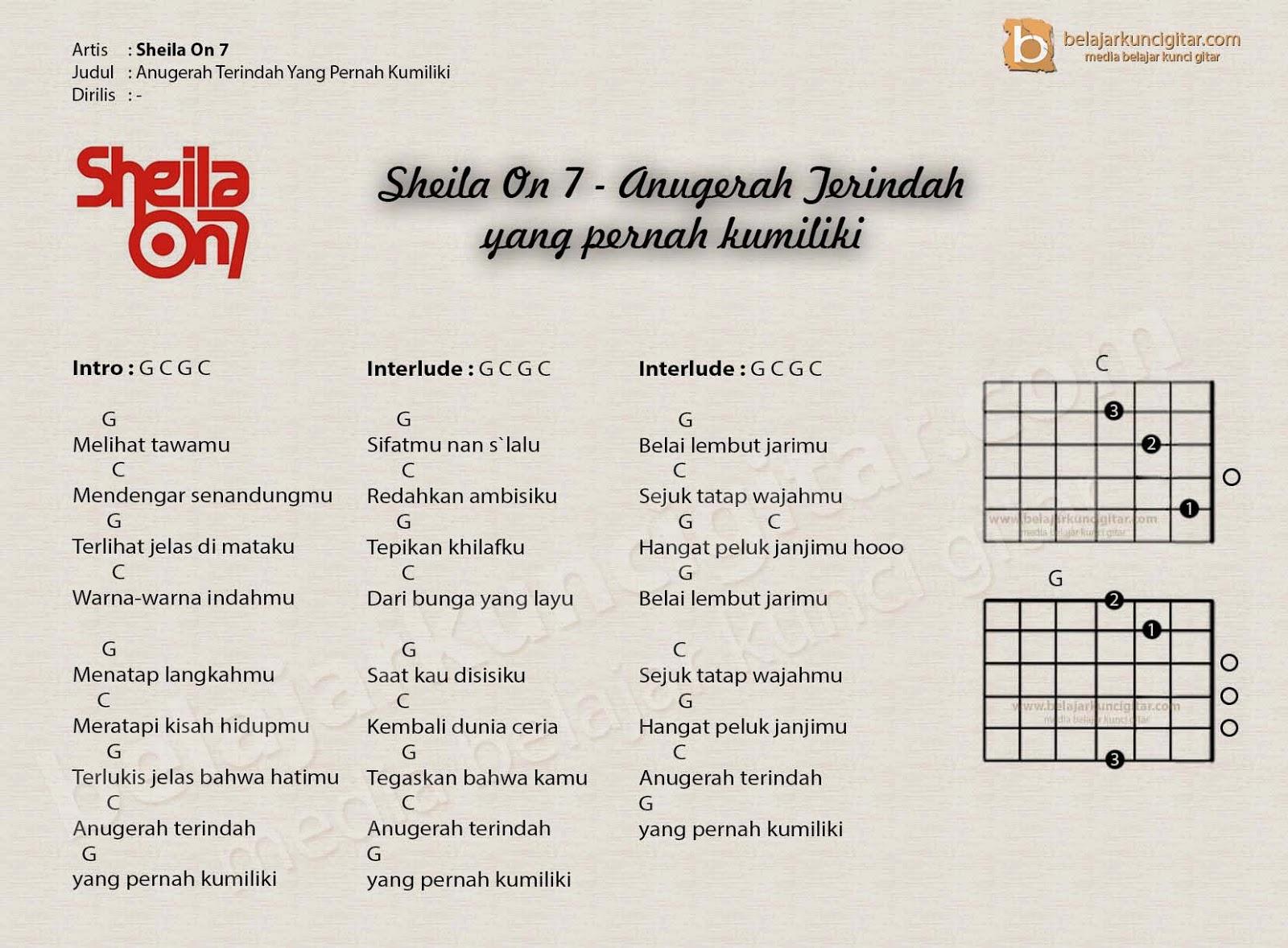 Gambar Kunci Gitar Geisha Tak Chord Lagu Peterpan Gambarhijabers