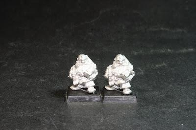 Segundo de los cuatro modelos de los Bugman's Dwarf Rangers