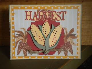 Cricut, Country Life, Harvest Card, Elegant Edges