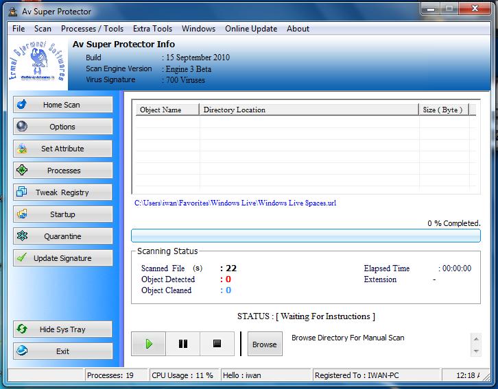 Super Antivirus 2010 Source Code for VB