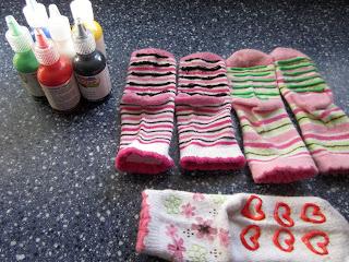 Make Grippy or No-Skid Socks: BrownThumbMama.com