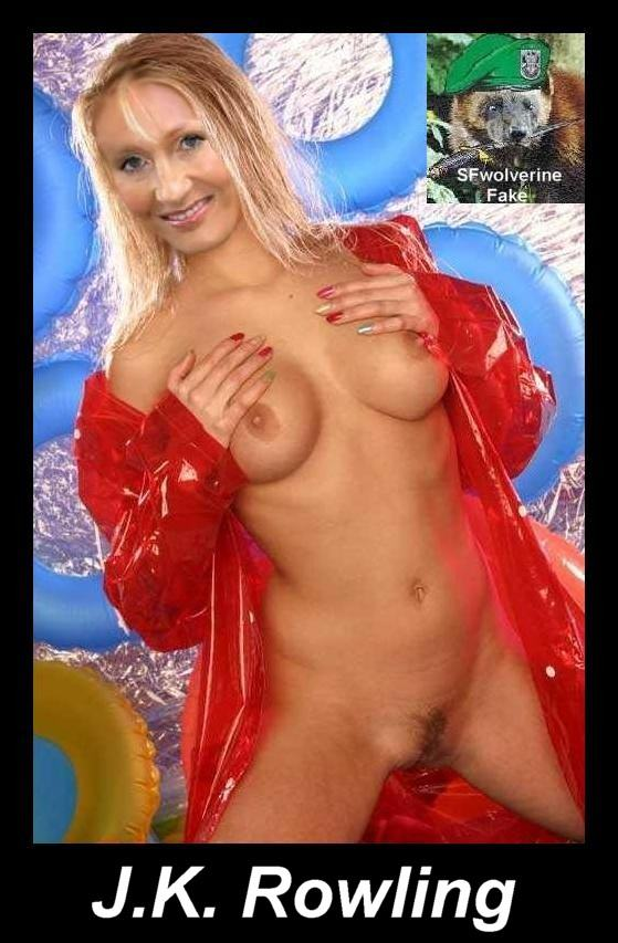 J k rowling fake nude