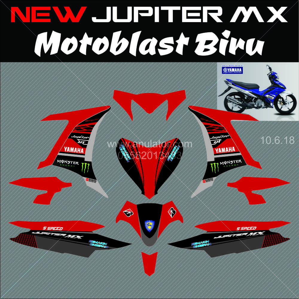 ... Stiker Motor, Sticker Motor, Striping Motor Custom, Decal Motor, Vinyl