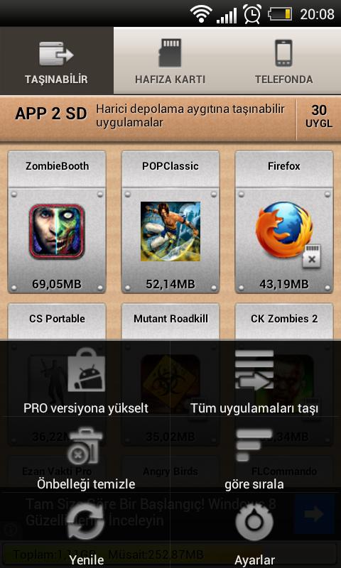 2012 12 09 20 08 25 Android Telefon hafızasından SD Karta uygulamaları taşımak