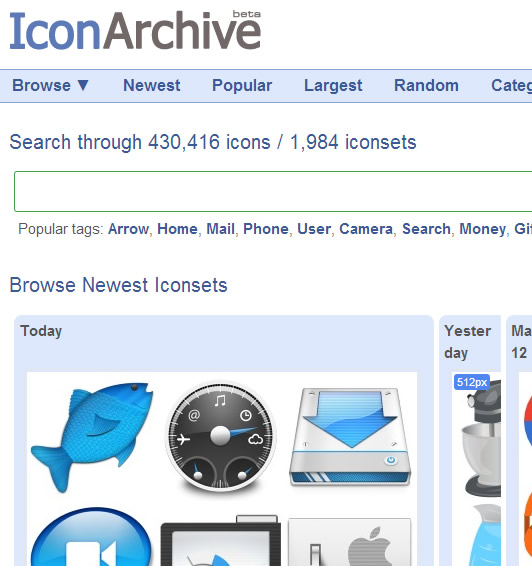 Icon Website : Icon Archive