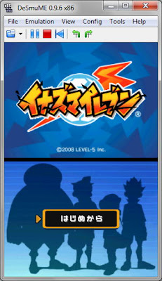 Download [NDS] Inazuma Eleven (JAP, English) Nintendo DS Rom Games