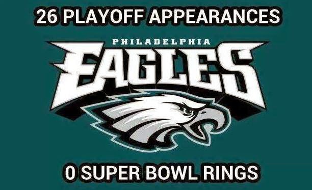 26%2Bplayoff%2Bappearances.%2B%2B0%2Bsuper%2Bbowl%2Brings 22 meme internet 26 playoff appearances 0 super bowl rings eagles