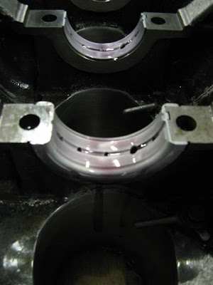 Nissan Engine Build Oil Bearings