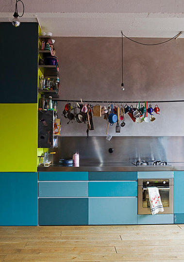 monday inspiration   colorful kitchen cabinets  via apartment therapy the house by the danube  monday inspiration   colorful kitchen      rh   thehousebythedanube blogspot com