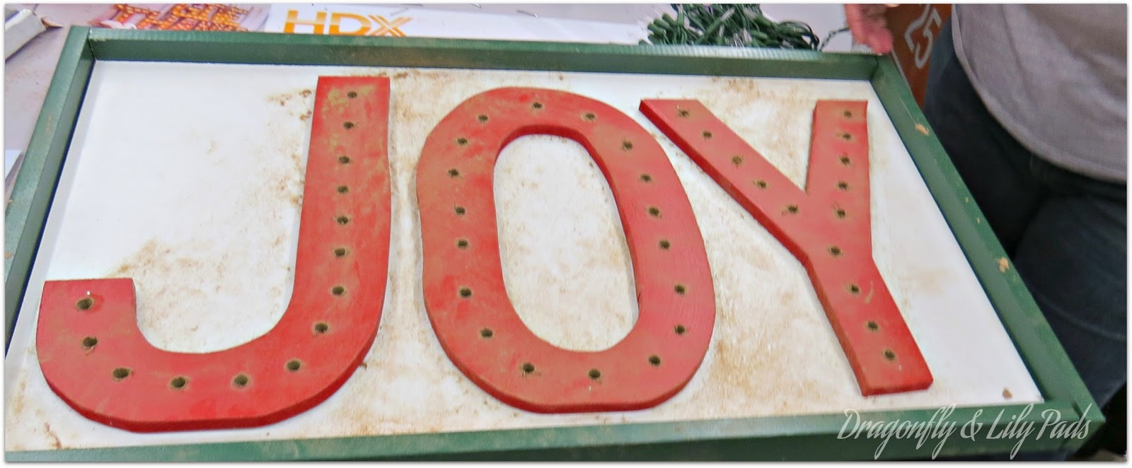 Drilling Done, Home Depot, Joy Marquee Sign, Her It Yourself Workshop
