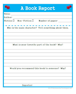 writing a book format
