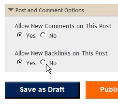 Create New Backlinks