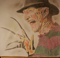 Freddykrueger drawing robertenglund nightmare